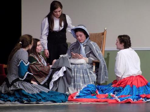 VHS students prepare for musical Little Women