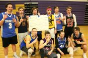 The winning dodgeball team took out 42 other teams to be named dodgeball champions