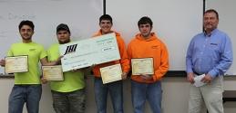 Construction bid project winners