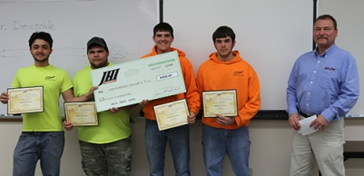 Construction bid project winners